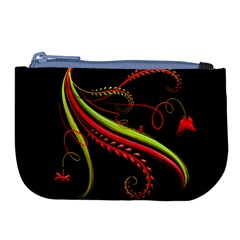Cool Pattern Designs Large Coin Purse by Nexatart