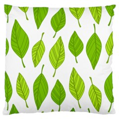 Spring Pattern Large Cushion Case (one Side) by Nexatart