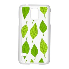 Spring Pattern Samsung Galaxy S5 Case (white) by Nexatart