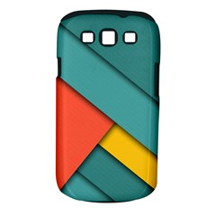 Color Schemes Material Design Wallpaper Samsung Galaxy S Iii Classic Hardshell Case (pc+silicone) by Nexatart