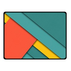 Color Schemes Material Design Wallpaper Double Sided Fleece Blanket (small)  by Nexatart