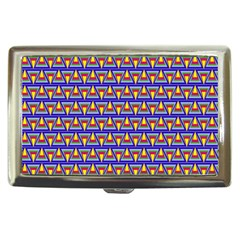Seamless Prismatic Pythagorean Pattern Cigarette Money Cases by Nexatart