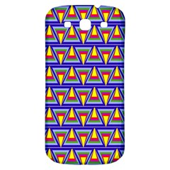 Seamless Prismatic Pythagorean Pattern Samsung Galaxy S3 S Iii Classic Hardshell Back Case by Nexatart