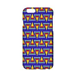 Seamless Prismatic Pythagorean Pattern Apple Iphone 6/6s Hardshell Case by Nexatart