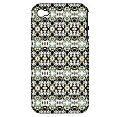 Abstract Camouflage Apple Iphone 4/4s Hardshell Case (pc+silicone) by dflcprints