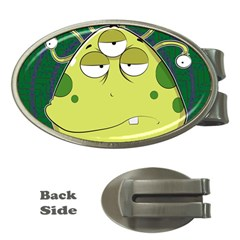 The Most Ugly Alien Ever Money Clips (oval)  by Catifornia
