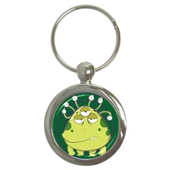 The Most Ugly Alien Ever Key Chains (round)  by Catifornia
