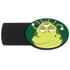 The Most Ugly Alien Ever Usb Flash Drive Oval (4 Gb) by Catifornia