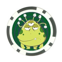 The Most Ugly Alien Ever Poker Chip Card Guard (10 Pack) by Catifornia