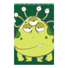 The Most Ugly Alien Ever Shower Curtain 48  X 72  (small)  by Catifornia