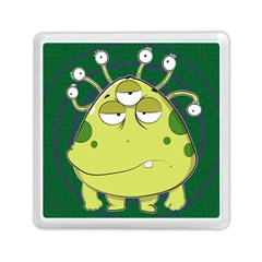 The Most Ugly Alien Ever Memory Card Reader (square)  by Catifornia