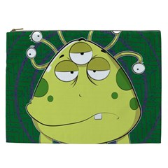 The Most Ugly Alien Ever Cosmetic Bag (xxl)  by Catifornia