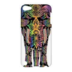 Prismatic Floral Pattern Elephant Apple Ipod Touch 5 Hardshell Case by Nexatart
