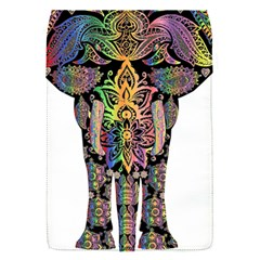 Prismatic Floral Pattern Elephant Flap Covers (s)  by Nexatart