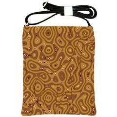 Giraffe Remixed Shoulder Sling Bags by Nexatart