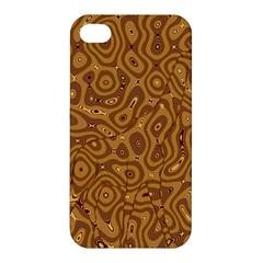 Giraffe Remixed Apple Iphone 4/4s Premium Hardshell Case by Nexatart