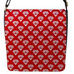 Diamond Pattern Flap Messenger Bag (s) by Nexatart