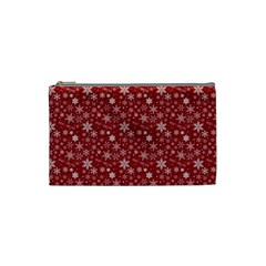 Merry Christmas Pattern Cosmetic Bag (small)  by Nexatart