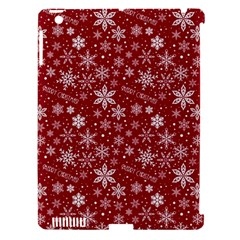 Merry Christmas Pattern Apple Ipad 3/4 Hardshell Case (compatible With Smart Cover) by Nexatart