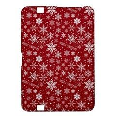 Merry Christmas Pattern Kindle Fire Hd 8 9  by Nexatart