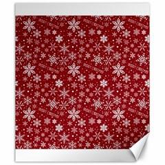 Merry Christmas Pattern Canvas 20  X 24   by Nexatart