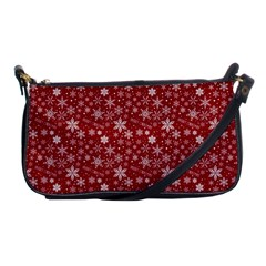 Merry Christmas Pattern Shoulder Clutch Bags by Nexatart
