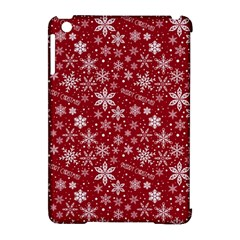 Merry Christmas Pattern Apple Ipad Mini Hardshell Case (compatible With Smart Cover) by Nexatart