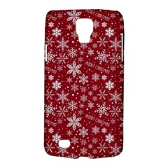 Merry Christmas Pattern Galaxy S4 Active by Nexatart