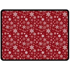 Merry Christmas Pattern Double Sided Fleece Blanket (large)  by Nexatart