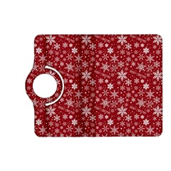 Merry Christmas Pattern Kindle Fire Hd (2013) Flip 360 Case by Nexatart