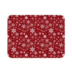 Merry Christmas Pattern Double Sided Flano Blanket (mini)  by Nexatart