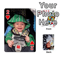 Jwf2017 By Jackie   Playing Cards 54 Designs   5q4ggrkzl03o   Www Artscow Com Front - Heart2