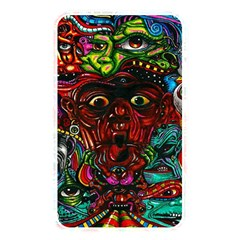 Abstract Psychedelic Face Nightmare Eyes Font Horror Fantasy Artwork Memory Card Reader by Nexatart