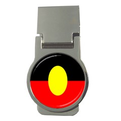 Flag Of Australian Aborigines Money Clips (round)  by Nexatart