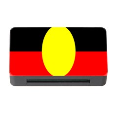Flag Of Australian Aborigines Memory Card Reader With Cf by Nexatart