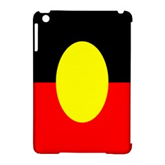 Flag Of Australian Aborigines Apple Ipad Mini Hardshell Case (compatible With Smart Cover) by Nexatart