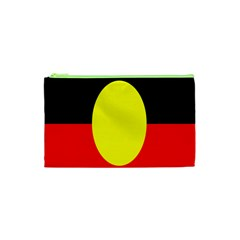 Flag Of Australian Aborigines Cosmetic Bag (xs) by Nexatart