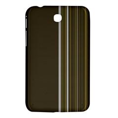 Lines Samsung Galaxy Tab 3 (7 ) P3200 Hardshell Case  by ValentinaDesign