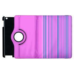 Lines Apple Ipad 3/4 Flip 360 Case by ValentinaDesign