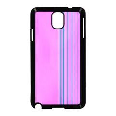 Lines Samsung Galaxy Note 3 Neo Hardshell Case (black) by ValentinaDesign