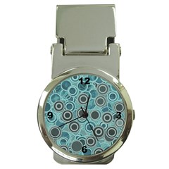 Abstract Aquatic Dream Money Clip Watches by Ivana