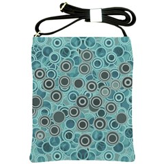Abstract Aquatic Dream Shoulder Sling Bags by Ivana