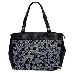 Abstract Grey End Of Day Office Handbags by Ivana