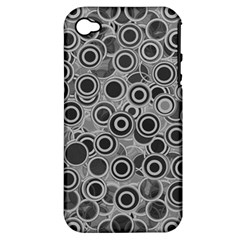 Abstract Grey End Of Day Apple Iphone 4/4s Hardshell Case (pc+silicone) by Ivana