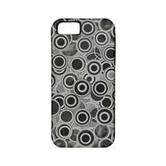 Abstract Grey End Of Day Apple Iphone 5 Classic Hardshell Case (pc+silicone) by Ivana