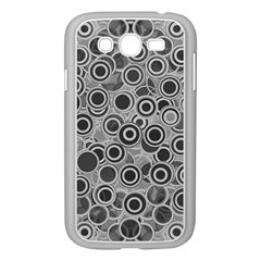 Abstract Grey End Of Day Samsung Galaxy Grand Duos I9082 Case (white) by Ivana