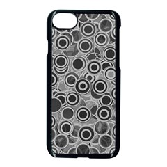 Abstract Grey End Of Day Apple Iphone 7 Seamless Case (black) by Ivana