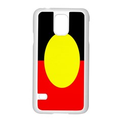 Flag Of Australian Aborigines Samsung Galaxy S5 Case (white)