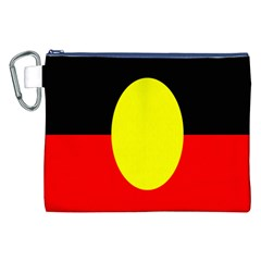 Flag Of Australian Aborigines Canvas Cosmetic Bag (xxl) by Nexatart