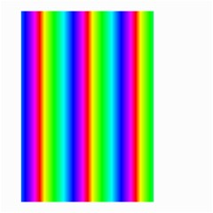 Rainbow Gradient Small Garden Flag (two Sides)